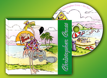 CD design for Christopher Cross